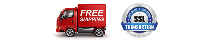 free shipping secure checkout